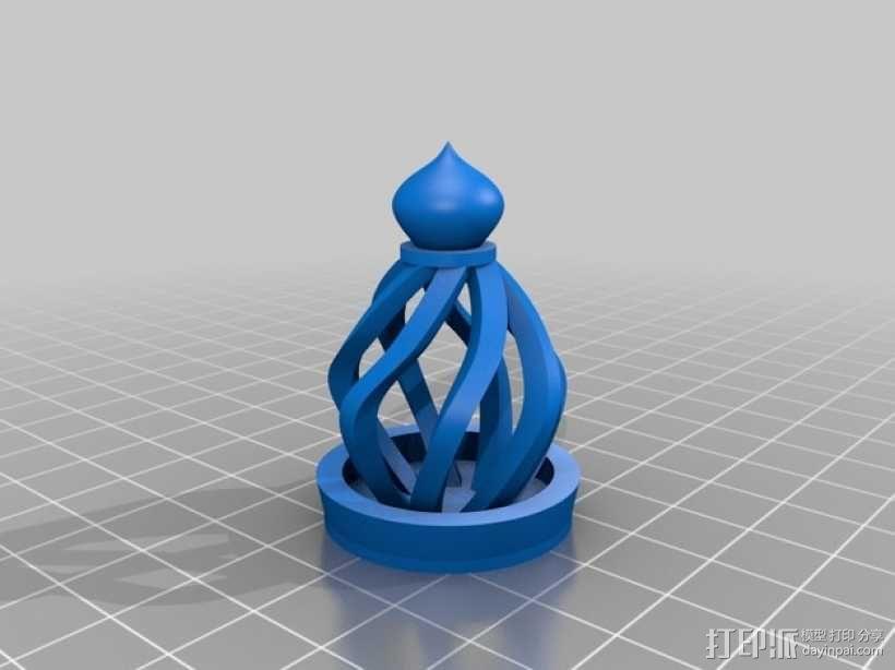 大理石笼子 3D模型  图2
