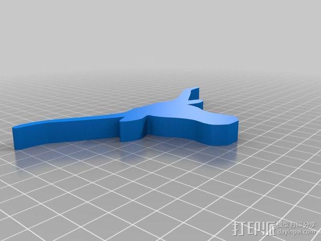 长角牛 3D模型  图2