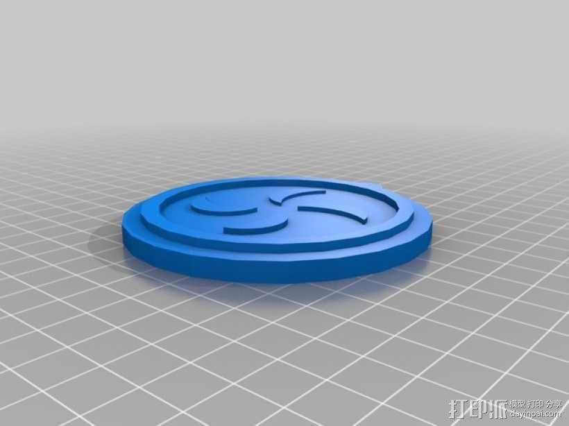 塞尔达传说 奖章 3D模型  图1