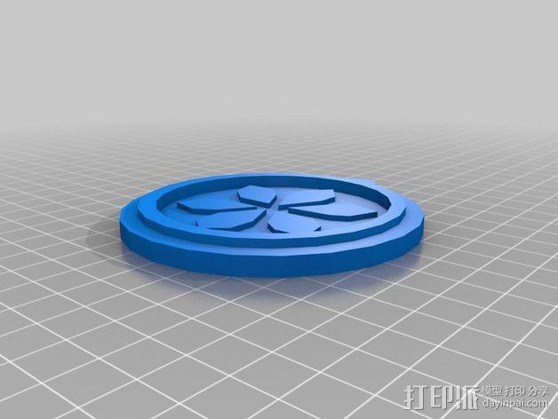 塞尔达传说 奖章 3D模型  图2