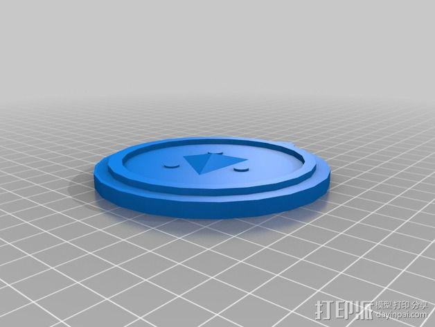 塞尔达传说 奖章 3D模型  图3