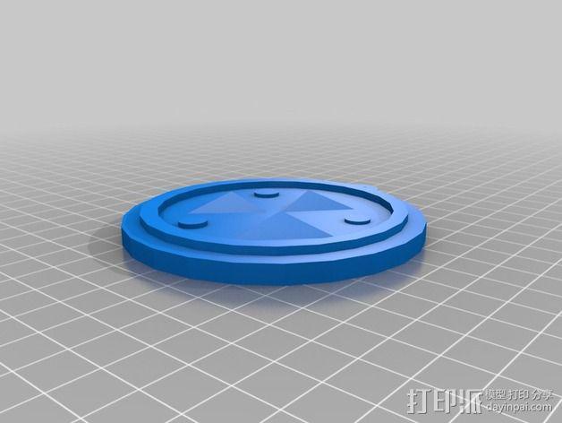 塞尔达传说 奖章 3D模型  图5