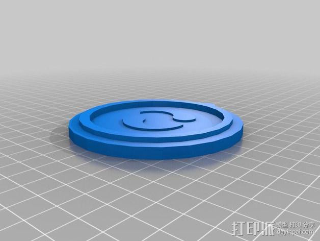 塞尔达传说 奖章 3D模型  图4