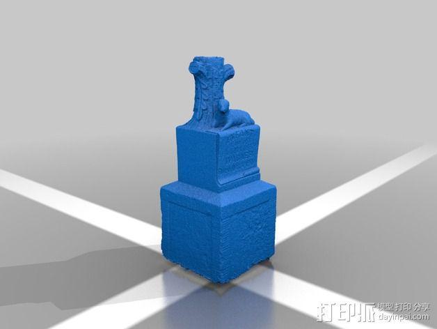 Wagner婴儿纪念碑 模型 3D模型  图2