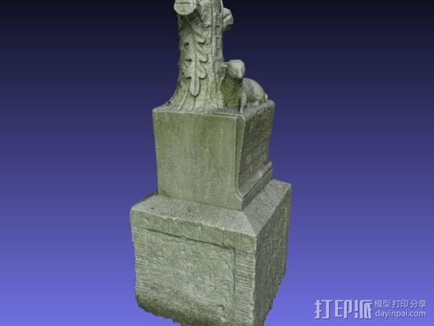 Wagner婴儿纪念碑 模型 3D模型  图6