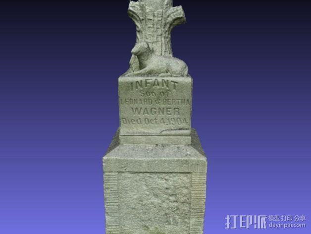 Wagner婴儿纪念碑 模型 3D模型  图3