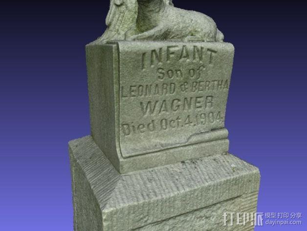 Wagner婴儿纪念碑 模型 3D模型  图7