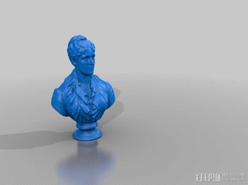 Grace Kimball半身像模型 3D模型  图1