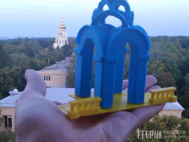 波克罗夫斯基大教堂 模型 3D模型  图3