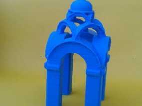 波克罗夫斯基大教堂 模型 3D模型