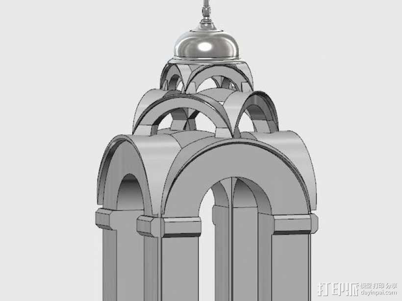 波克罗夫斯基大教堂 模型 3D模型  图10