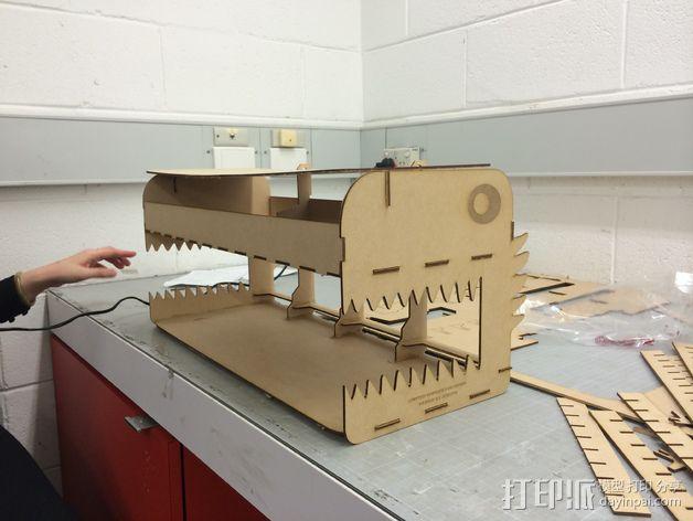 日常用品存储箱 3D模型  图2