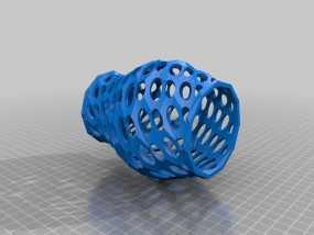 Funky花瓶 3D模型