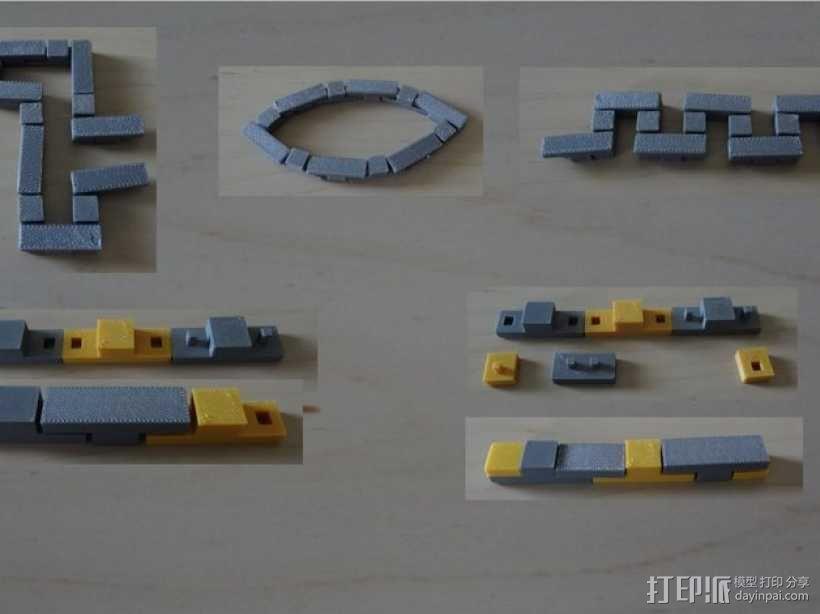 积木  3D模型  图1