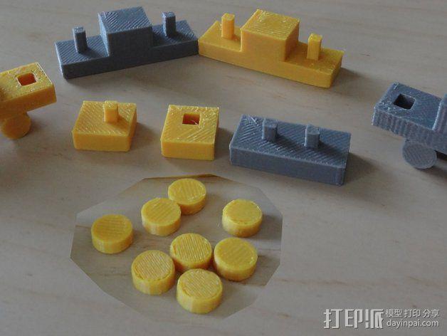 积木  3D模型  图12