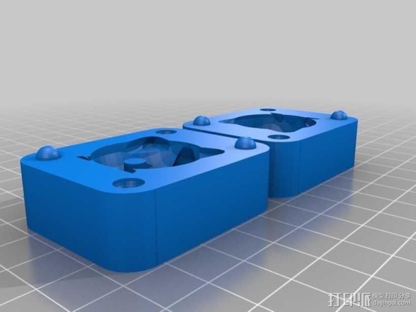 低面数波波球胖丁模型 3D模型  图2