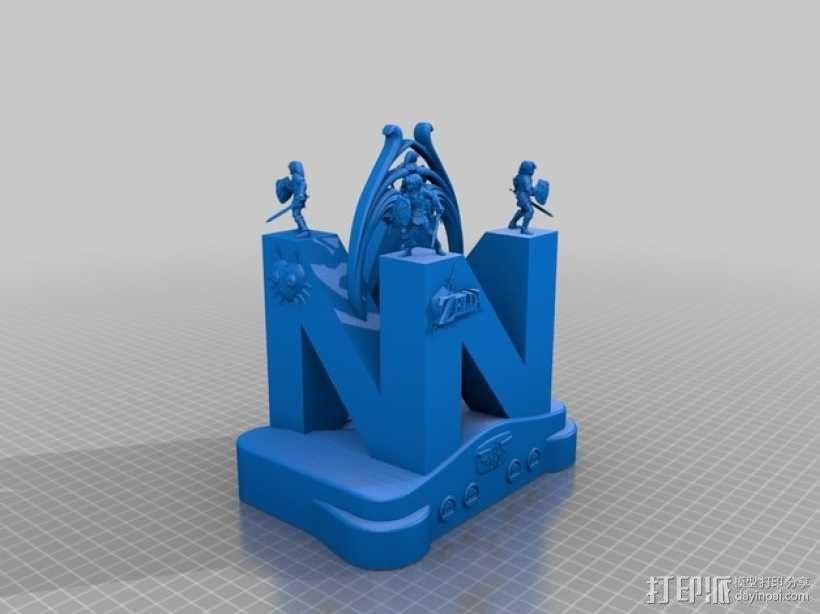 神龛 模型 3D模型  图1