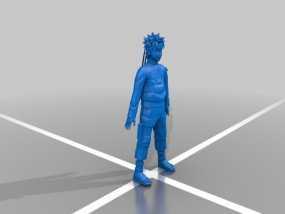 火影忍者 人物模型 3D模型