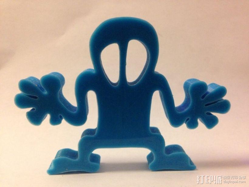 塑料狂人 模型 3D模型  图2