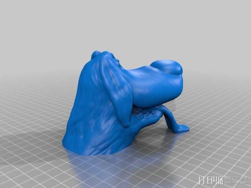 迪士尼狗狗 模型 3D模型  图2