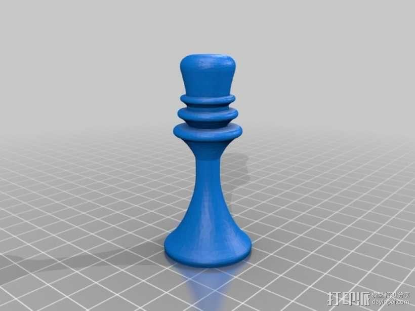 象棋棋子 3D模型  图4