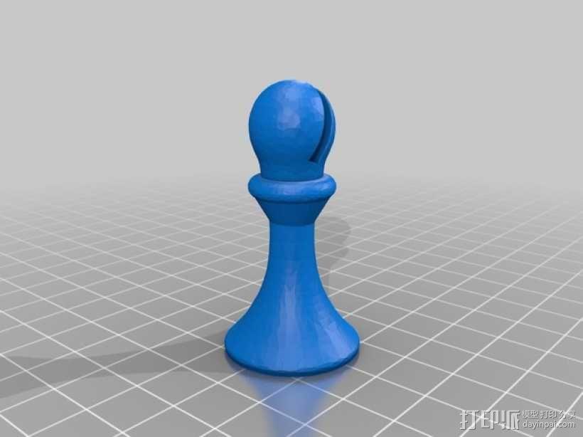 象棋棋子 3D模型  图7
