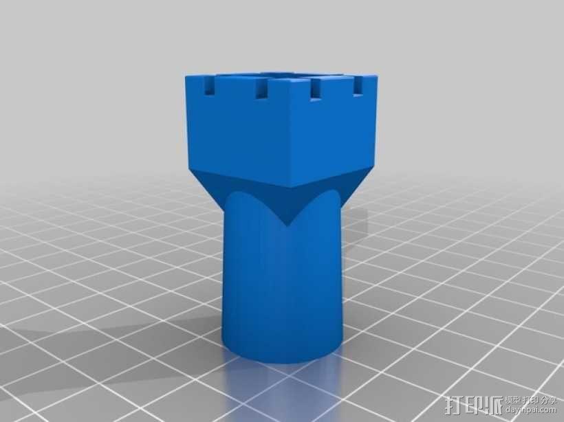 象棋棋子 3D模型  图6