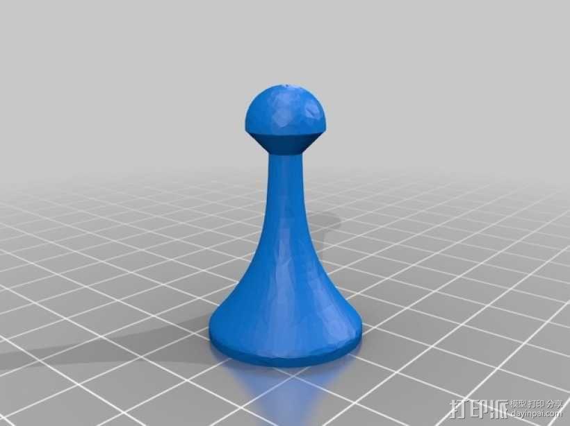 象棋棋子 3D模型  图5