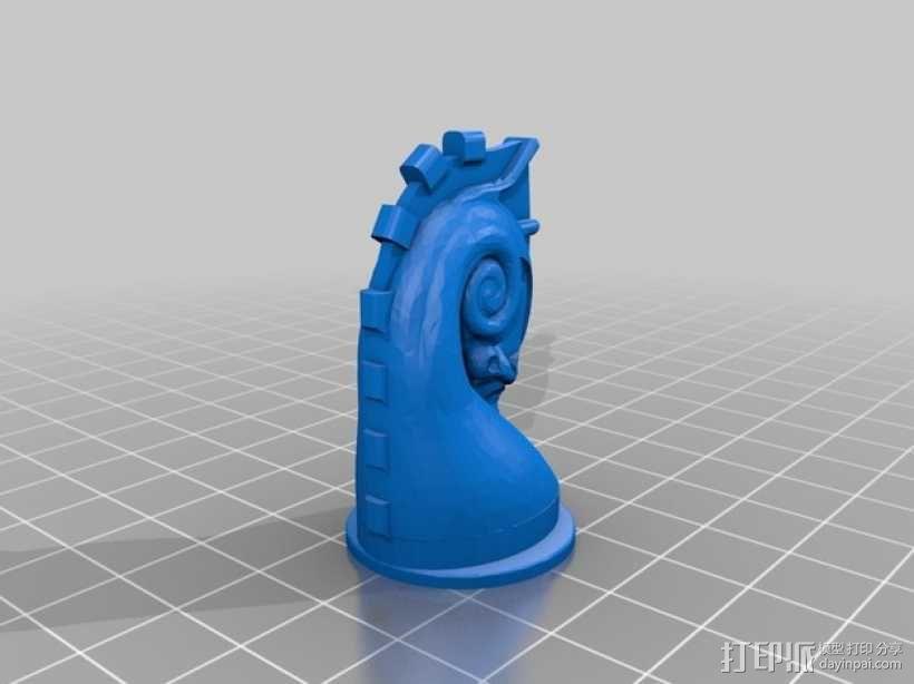 象棋棋子 3D模型  图9