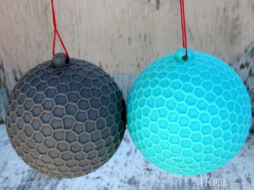 Thompson汤普森 小球 3D模型  图1