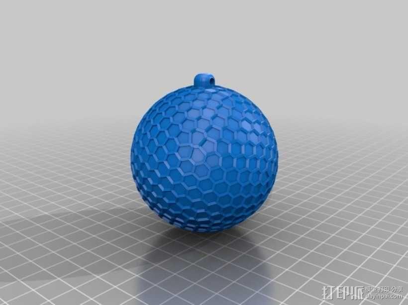 Thompson汤普森 小球 3D模型  图2