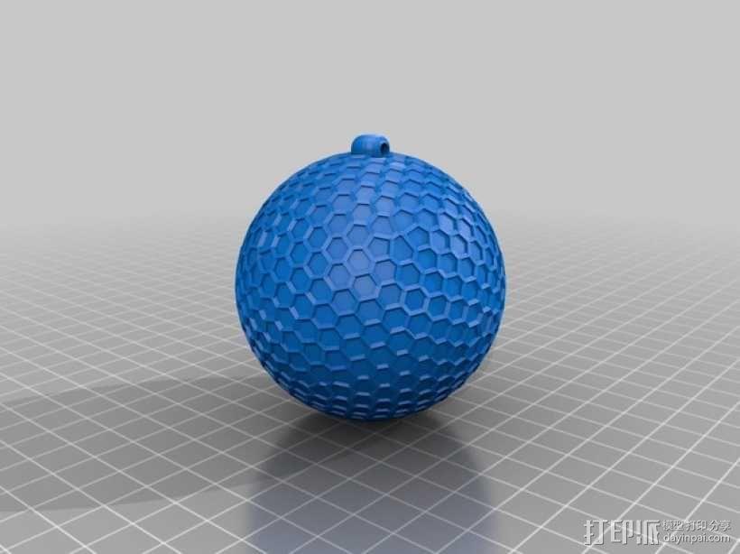 Thompson汤普森 小球 3D模型  图3