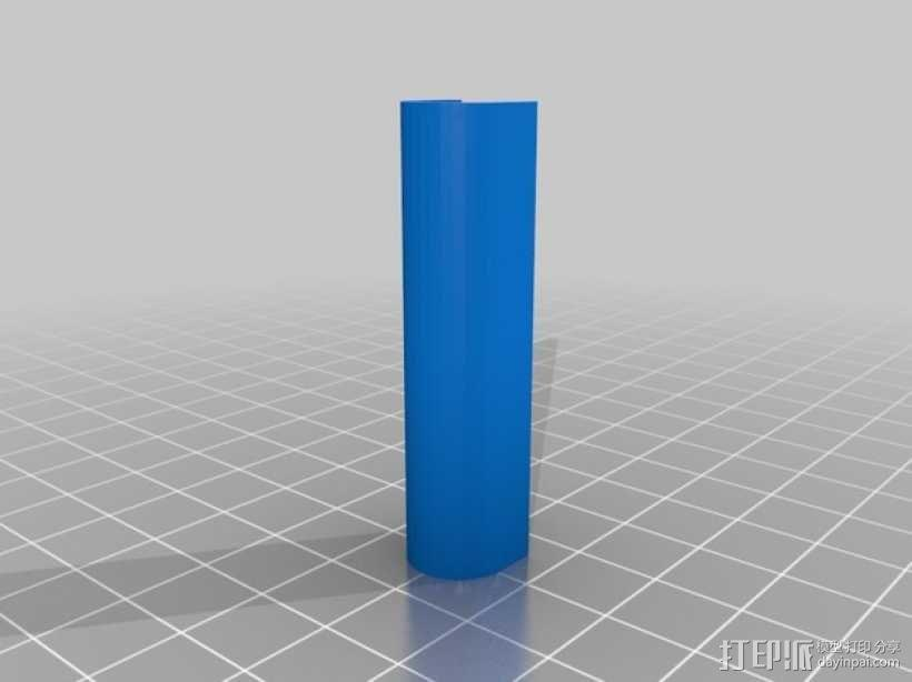 齿轮块(带手动曲柄) 3D模型  图9