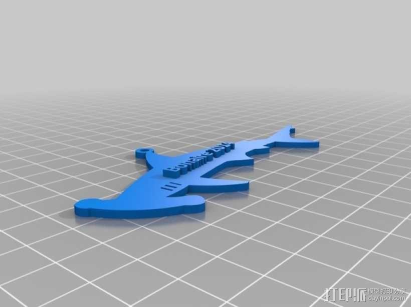 潜水员 吊坠 3D模型  图9