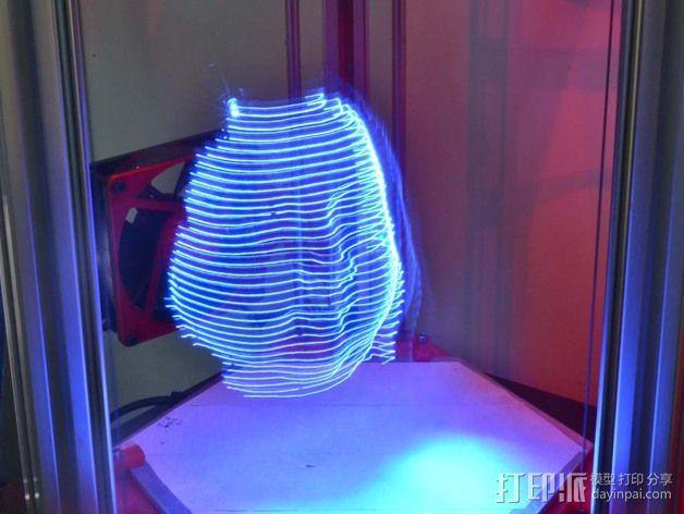 分割光之灯 3D模型  图4