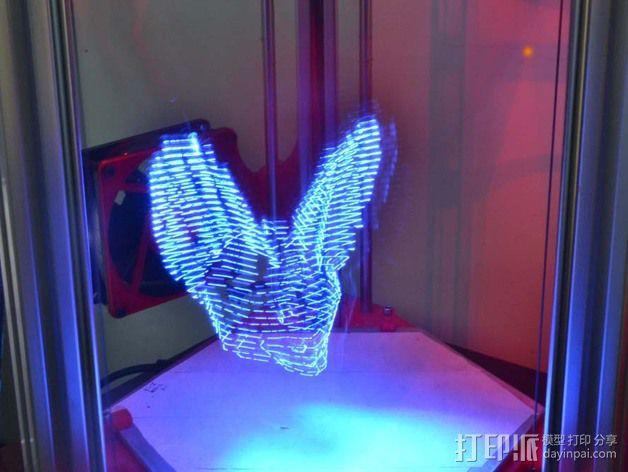 分割光之灯 3D模型  图3