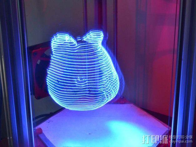 分割光之灯 3D模型  图5