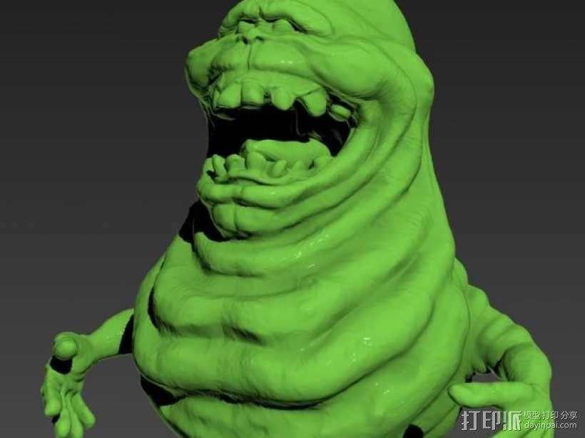 Slimer史莱姆 模型 3D模型  图1