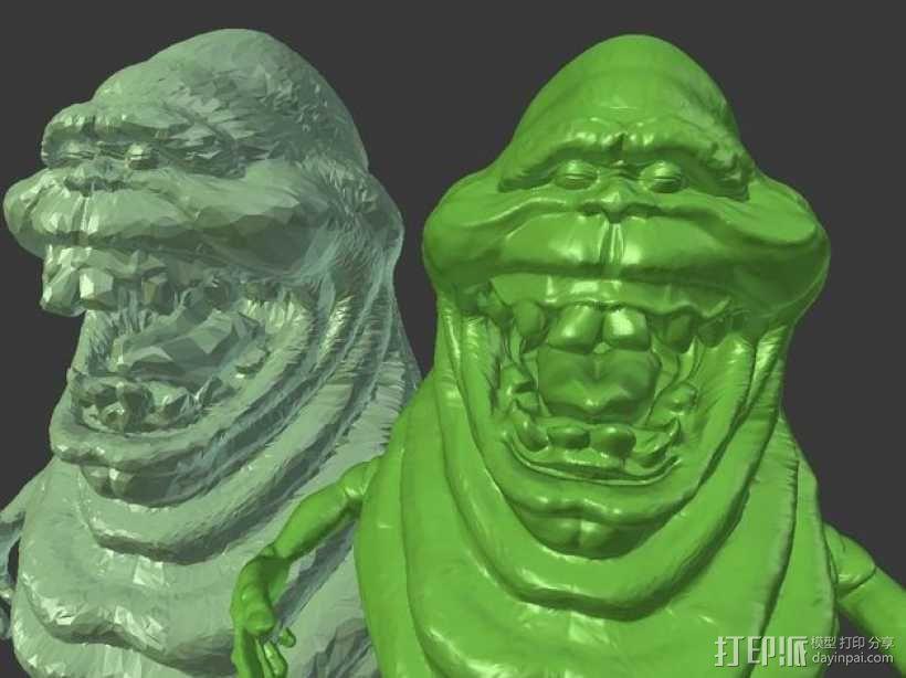 Slimer史莱姆 模型 3D模型  图3