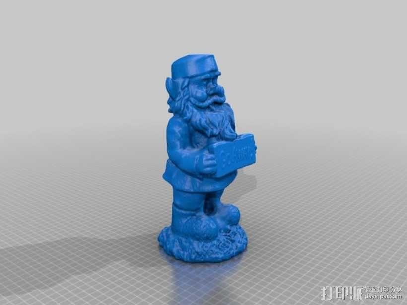 侏儒——驱除者 3D模型  图1
