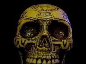 玛雅人头骨 3D模型