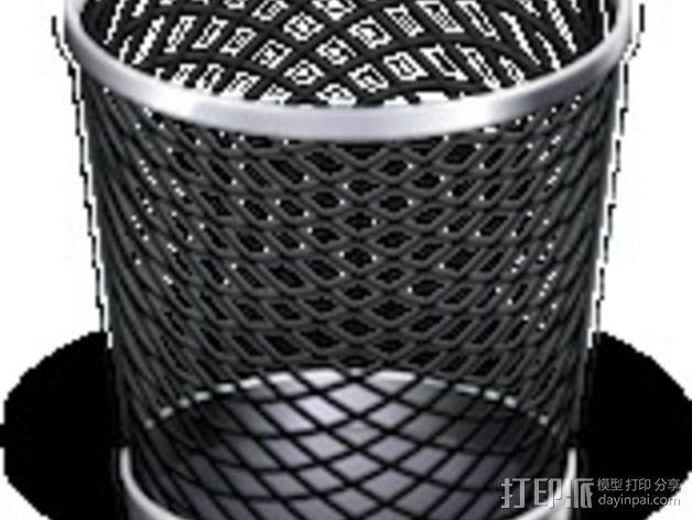 回收桶 3D模型  图6