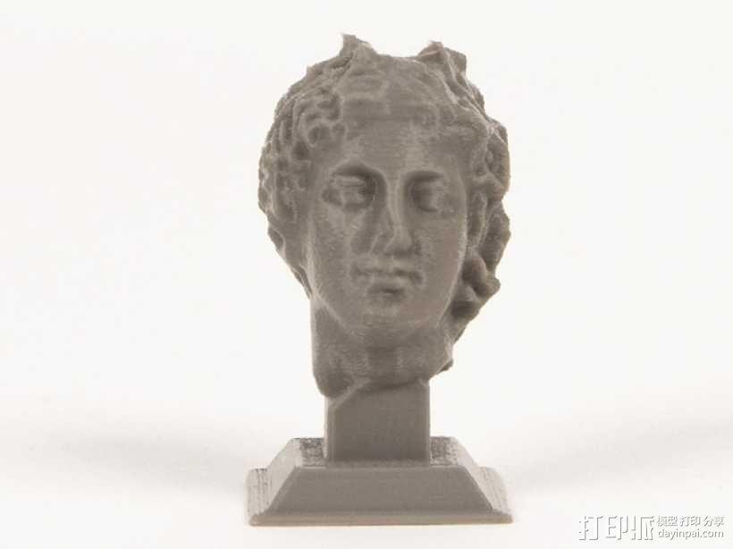 罗曼头像雕塑模型 3D模型  图1