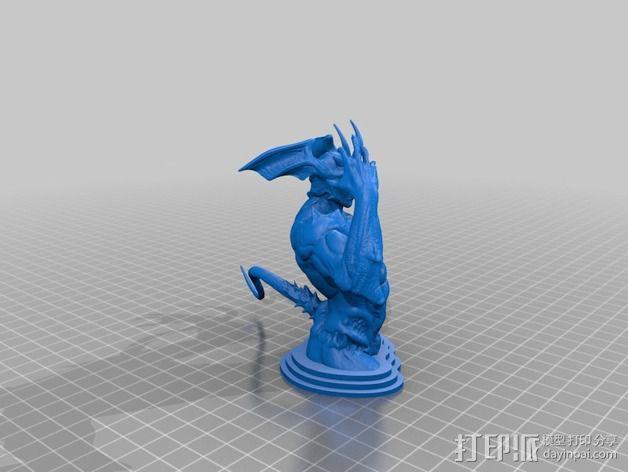 邪恶的人 V2 3D模型  图3