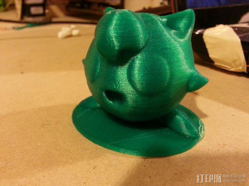 胖丁 3D模型  图1