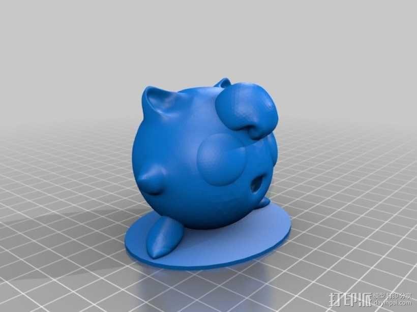 胖丁 3D模型  图2