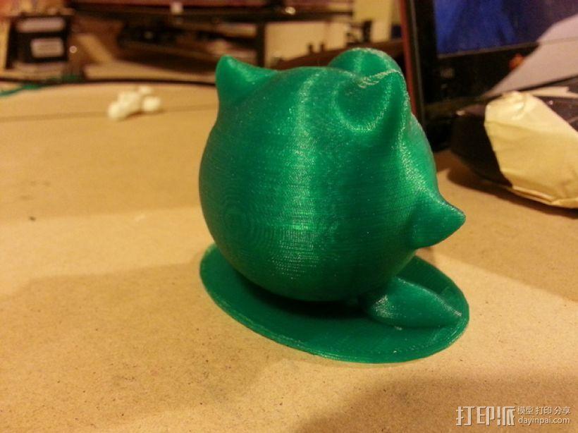 胖丁 3D模型  图4