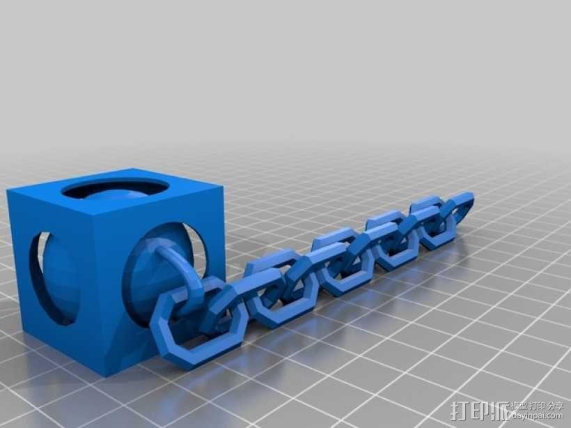 锁链球 3D模型  图2