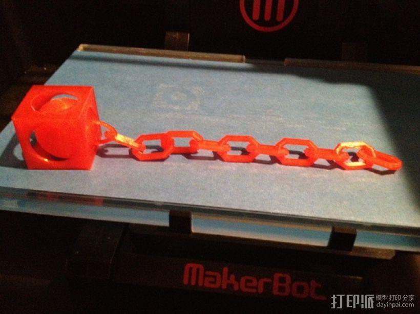 锁链球 3D模型  图1