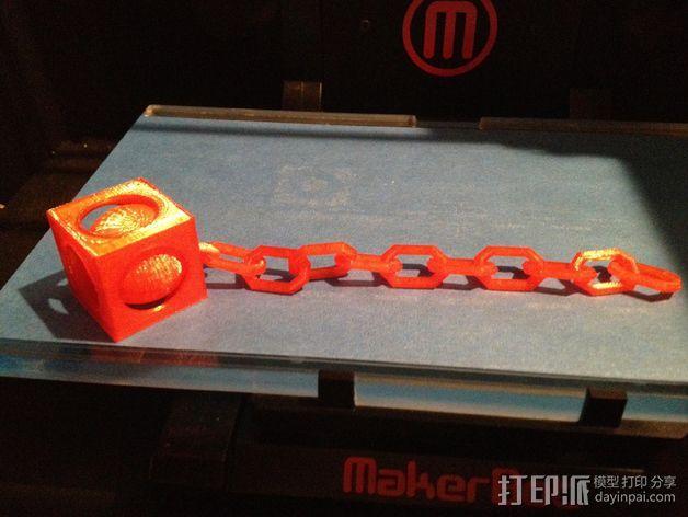 锁链球 3D模型  图3